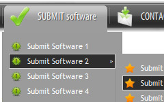 Template Flash Collapsable Menu Tuto Create Menu Submenu In Flash