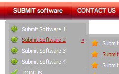 Flash Templates Menu Free Flash Web Menus