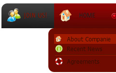 Creating Rollover Menu Flash Descargar Menus En Flash Template