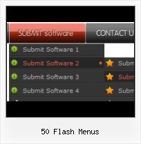 Basic Flash Menu Floating Rollover In Flash
