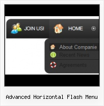Free Menu Templates Foldout Javascript Menu Above Flash