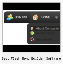 Create Online Menu Template Fly Rollover Flash