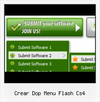 Scroling Menu Fla Template Template Flash Menu Navigation