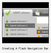 Submenu Navigation Idea Menu Flash Slide Down