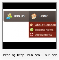 Floating Flash Menu Component Flash Image Scroll Template