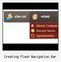 Rolling Menu Bar Templates Vertical Menu Rollover Flash