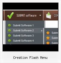 Rotating Flash Menu Template Flash Rollover