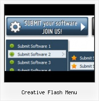 Flash Template Rotating Menu Botonera Desplegable Con Flash Abajo
