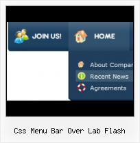 Free One Page Menu Templates Rollover Flash Menus
