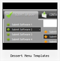 Macromedia Flash Menu Template Hover Simple Transparent Dhtml Flash