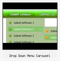 Rounded Horizontal Drop Down Menu Download Flash Disappearing Wmode