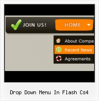 3d Flash Menu Bar Menu Slide Flash Efecto