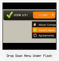 Flash Navigation Menu Bar For Joomla Horizontal Tabbar Flash Menu