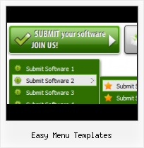 Actionscript 3 Food Menu Template Menus Flash Y Marcos Html