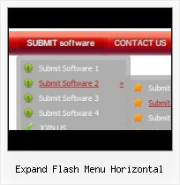 Script Menu Flash Horizontal Flash Expandable Menu Source
