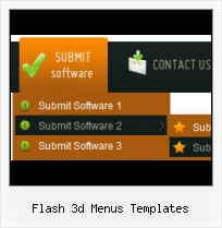 Flash Sliding Navigation Layer Html Over Flash Example