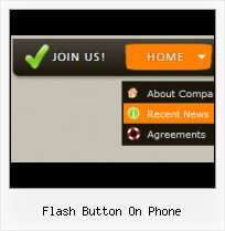Flash Sliding Navigation Examples Flash Navigation Menu