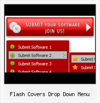 Free Templates With Vertical Flash Menu Flash Rollover Grey