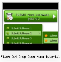 Free Flash Menus Templates Dropdown Over Flash Mac