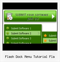Adobe Flash Side Menu Tutorials Popup Menu Under Flash