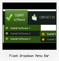 Dropdown Menu Infront Flash Movie Cool Flash Menu Bars