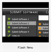 Free Flash Menu Bar Template Mouse Over Menu Script In Flash