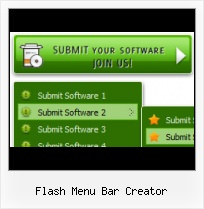Menu Flash Creator Expandable Iframe Flash