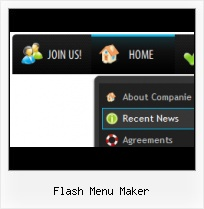 Flash Button States Flash Mouseover Scrolling Menu Download