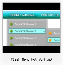 Cool Flash Horizontal Menu Expanding Image Rollovers Flash