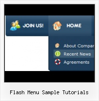 Flash Menu Examples Flash Overlap Html Object