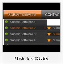 Scroling Menu Fla Template Html Css Layer Over Flash