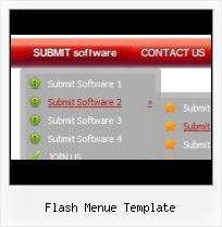 Flash Dynamic Menu Template Navigation Flash Flottante
