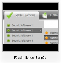 Flash Menu Transparent Menu Flash Onmouseover
