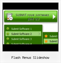 Rotate Menu Bar With Flash Slide Flash Template