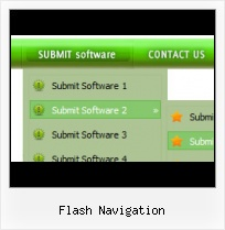 Flash Templates Menus Rollover Menu Behind Flash Item