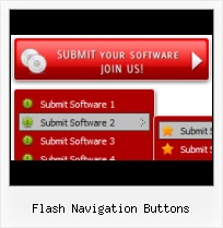Horizontal Flash Menu Flash Menu Scrolling Rollovers