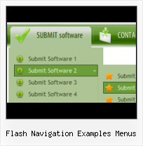 Examples Menu In Flash Flash A�Con Samples