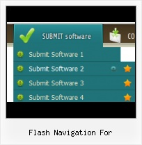 Flash Button States Flash Multiple Pull Down Menus