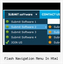 Free Flash Menu Slide Layer Flash Object Over Image