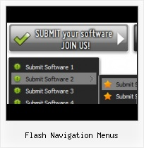 Flash Left Sliding Menu Bars Actionscript Vista And Flash Layer
