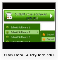 Flash Menu Tree Buttons Free Fla Script Flash Slide Menu