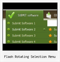 Free Flash Template Menu Flash Movie Roll Over