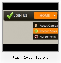 Flash Text Buttons Vertical Scrolling Buttons Flash