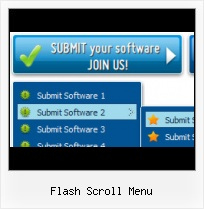 Flash Submenu Animation Mena Scroll Flash