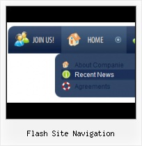 Rotating Flash Menu For Websites Flash Transparent Menu Bar On Html