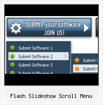 Sliding Flash Menu Html Javascript Rollover Menu Comes Under Flash