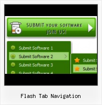 Flash Banner With Navigation Flash Layer Over Html Page