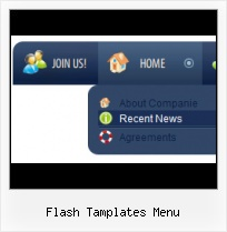 Flas Menu Template Barra Lateral Flash Mx