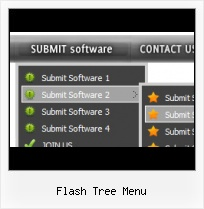 Transparent Flash Menu Example Template Web Java Flash