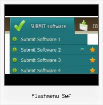 Flash Scrolling Menu Template Flash Dropmena